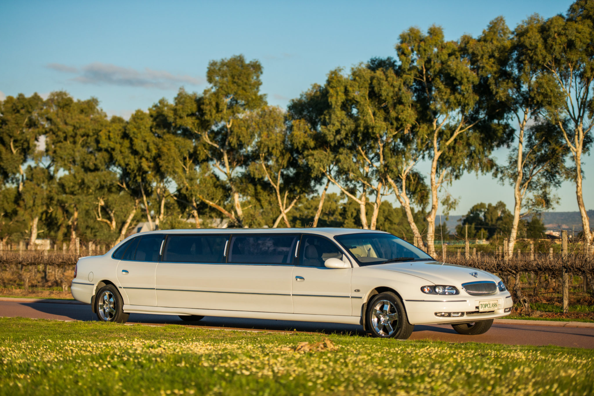 White Statesman Limousine Limousines And Classics Perth